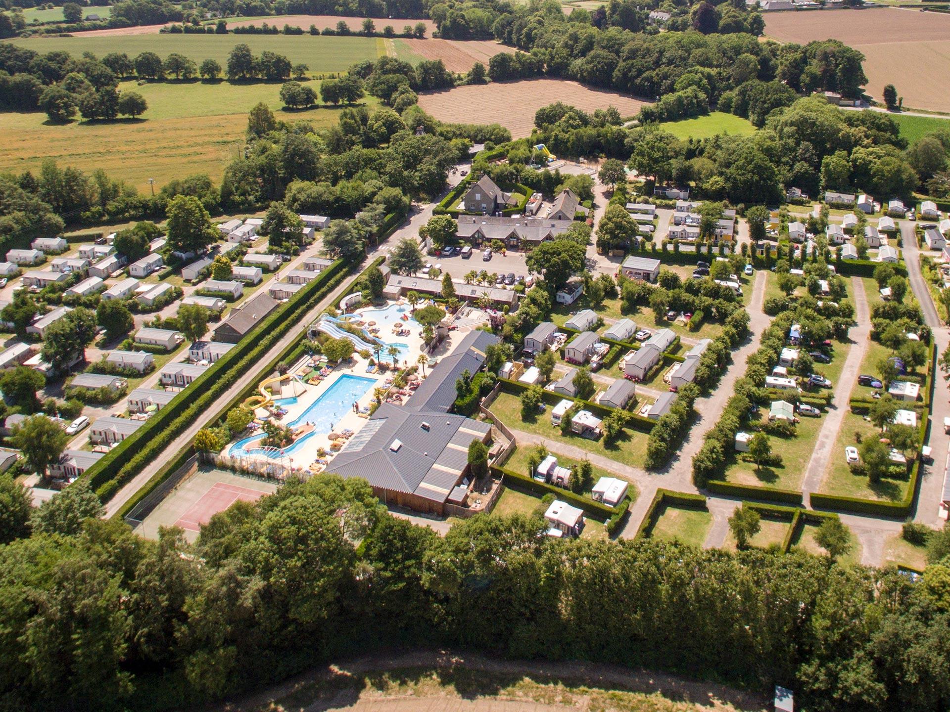 Camping 5 étoiles Saint Malo Le P Tit Bois Yelloh Village En Bretagne